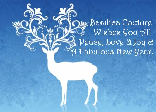 Peace, Love & Joy From Basilica Couture